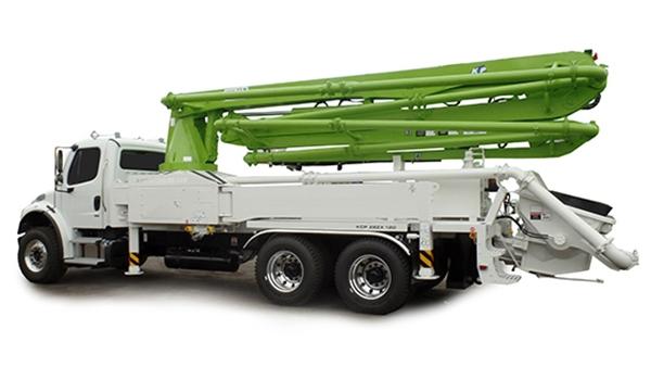28米小型混凝土泵车
