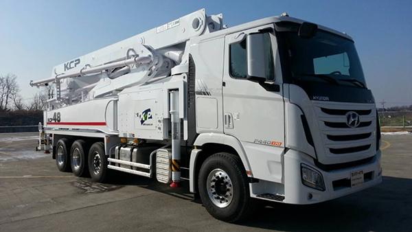 48米混凝土泵车