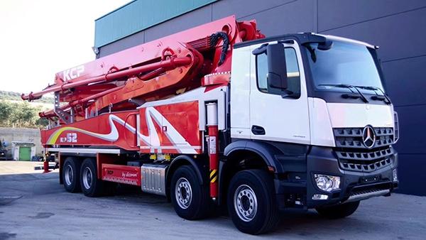 52米混凝土泵车