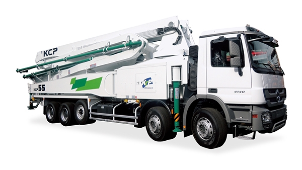 55米混凝土泵车