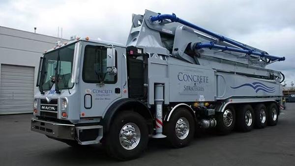 60米混凝土泵车