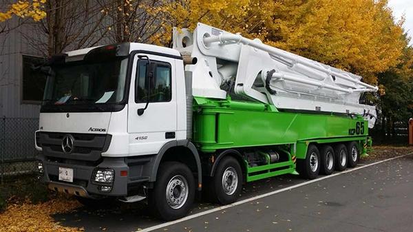 65米混凝土泵车