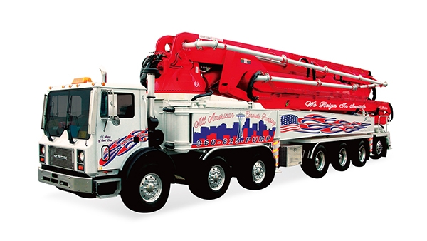 70米混凝土泵车