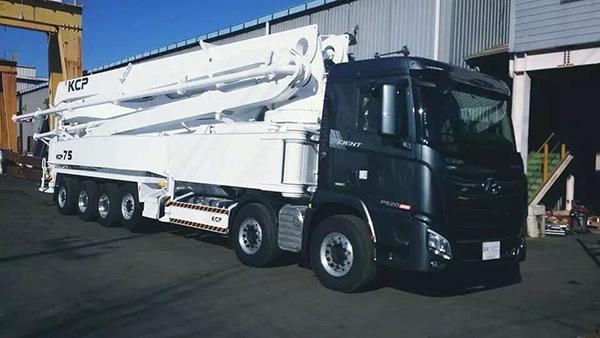 75米混凝土泵车